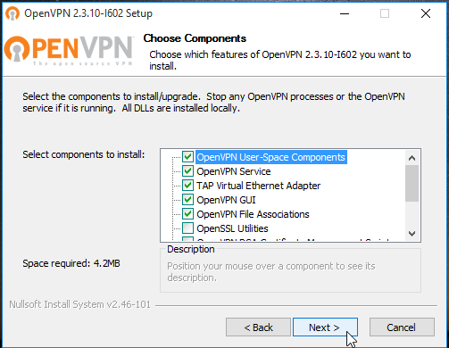 OpenVPN Windows 3